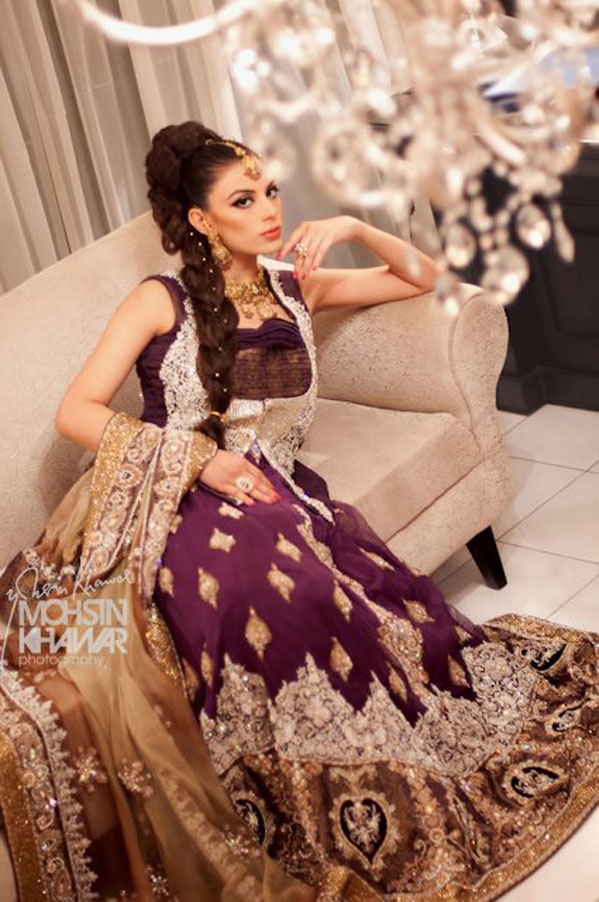 Fashion world latest fashion bridal pakistani dresses for Online pakistani wedding dresses