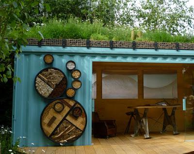 hotel dla owadów, domek dla owadów, Zielona Metamorfoza, ZM
