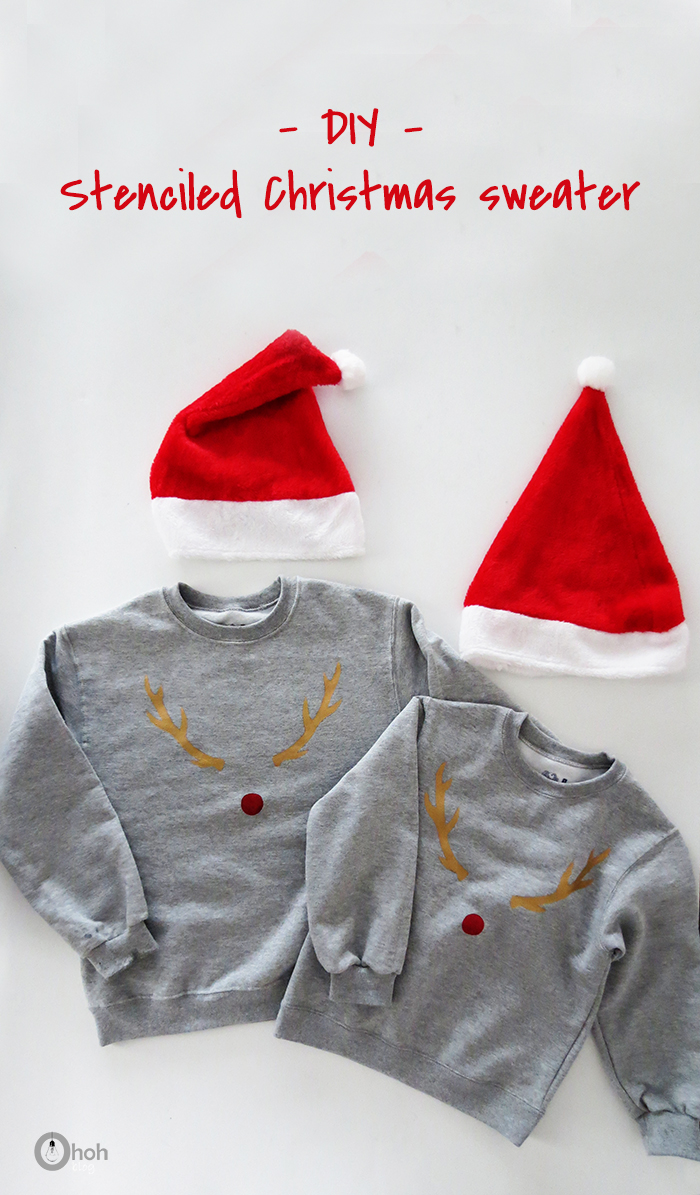 Make a fun Christmas sweater