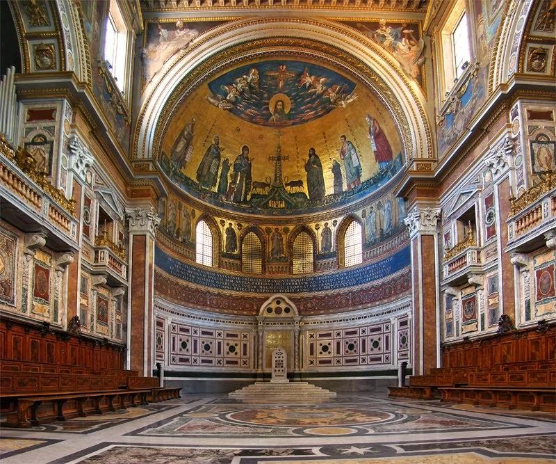 Basilica di San Giovanni a Roma (my Parish)