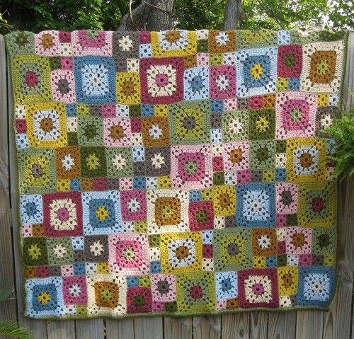 Garden Patch Granny Afghan - Free Pattern