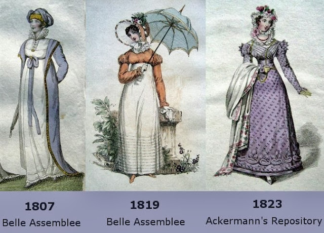 Regency Walking Dress