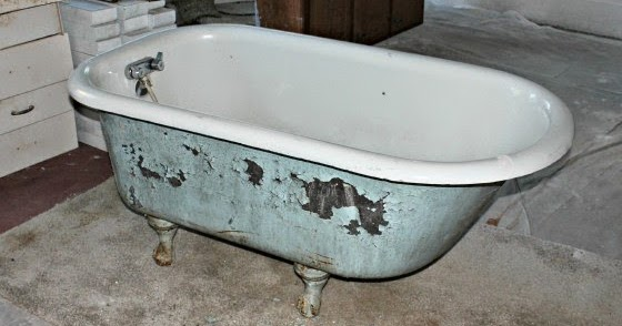 The Pin Junkie How To Refinish A Vintage Tub