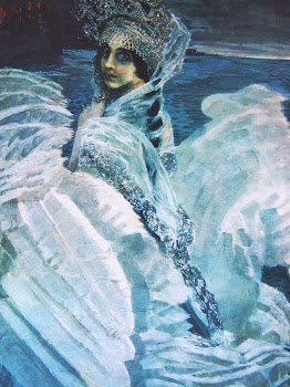 Vrubel &#39;The Swan Princess&#39; (1900)