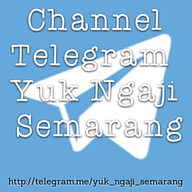 Channel Telegram Yuk Ngaji Semarang