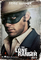 Armie Hammer The Lone Ranger Poster