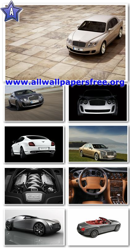 40 Bentley Cars Wallpapers 1920 X 1200 [Set 1]