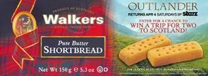 walker shortbread outlander package