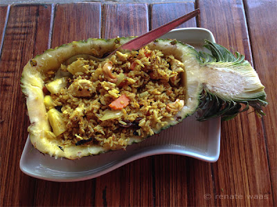 Thailand Ko Lipe Jack´s Jungle - lunch Curry Ananas