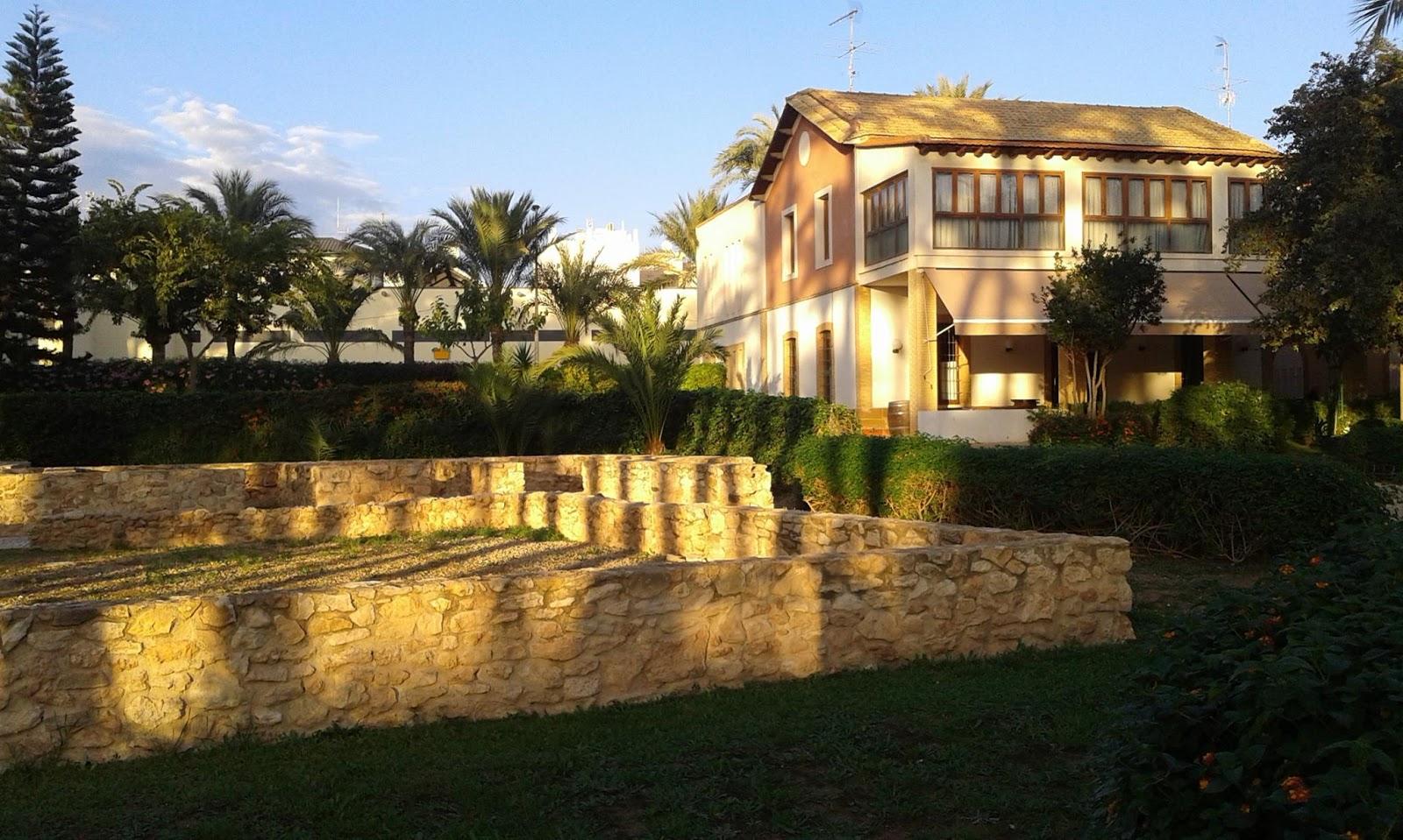 Conoce santa pola la casa romana de el palmeral - La casa romana ...