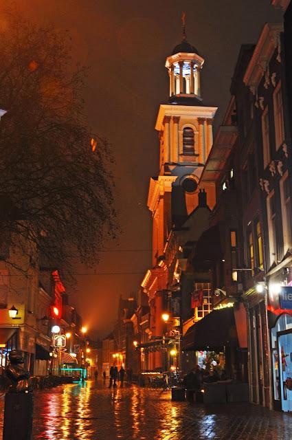 Binnenstad met kerst
