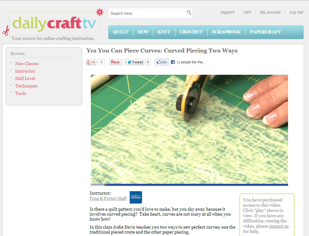 Daily Craft Tv Com Quilt