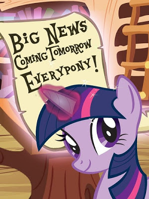 Oh My Gosh, Oh My Gosh. Oh My Gosh! News from Twilight Sparkle