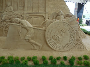 Walk around Singapore: Sentosa Sandsation