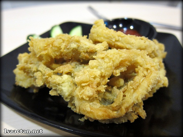 Fried Squid Ring - RM6.90