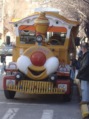 Trenzinho turístico em Bariloche - AR