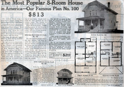 1913 House price and adverty
