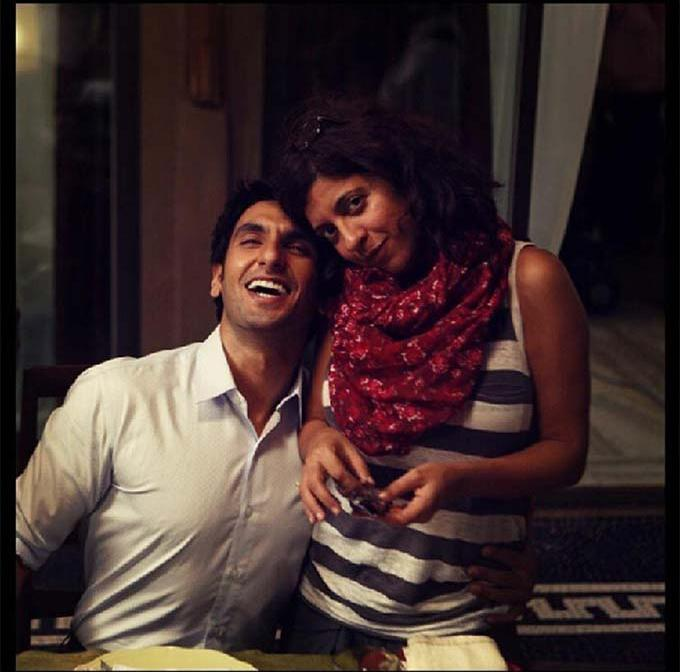 Dil Dhadakne Do (2015) director Zoya Akhtar and actor Ranveer Singh remains best friends