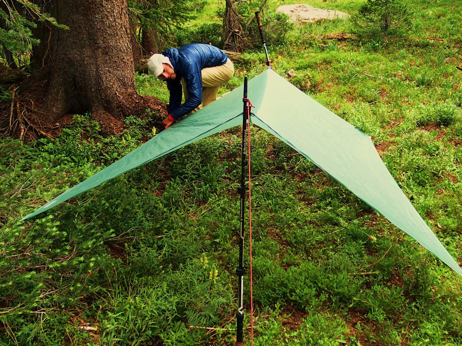 Robens 3x3 compteur Trail Tarp