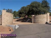 Brick Driveway Entrances