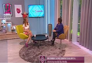 Programa Faz Sentido na SIC Mulher com Ana Rita Clara a entrevistar Maria João Martins