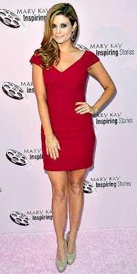 JOANNA GARCIA-SWISHER RED DRESS