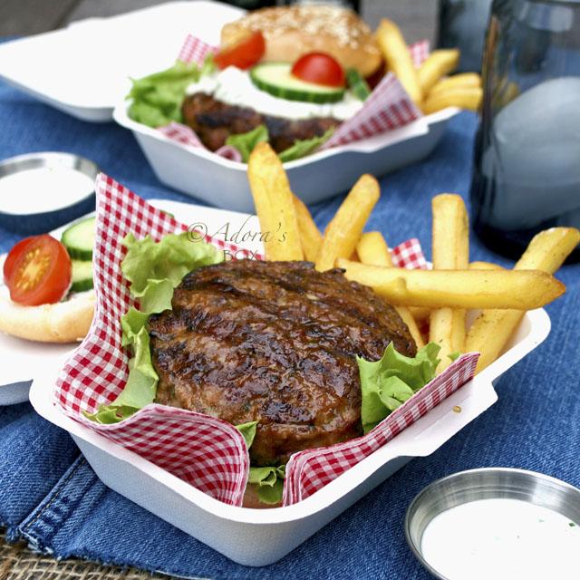 Mediterranean Lamb Burger Recipes — Dishmaps