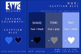 Blue: