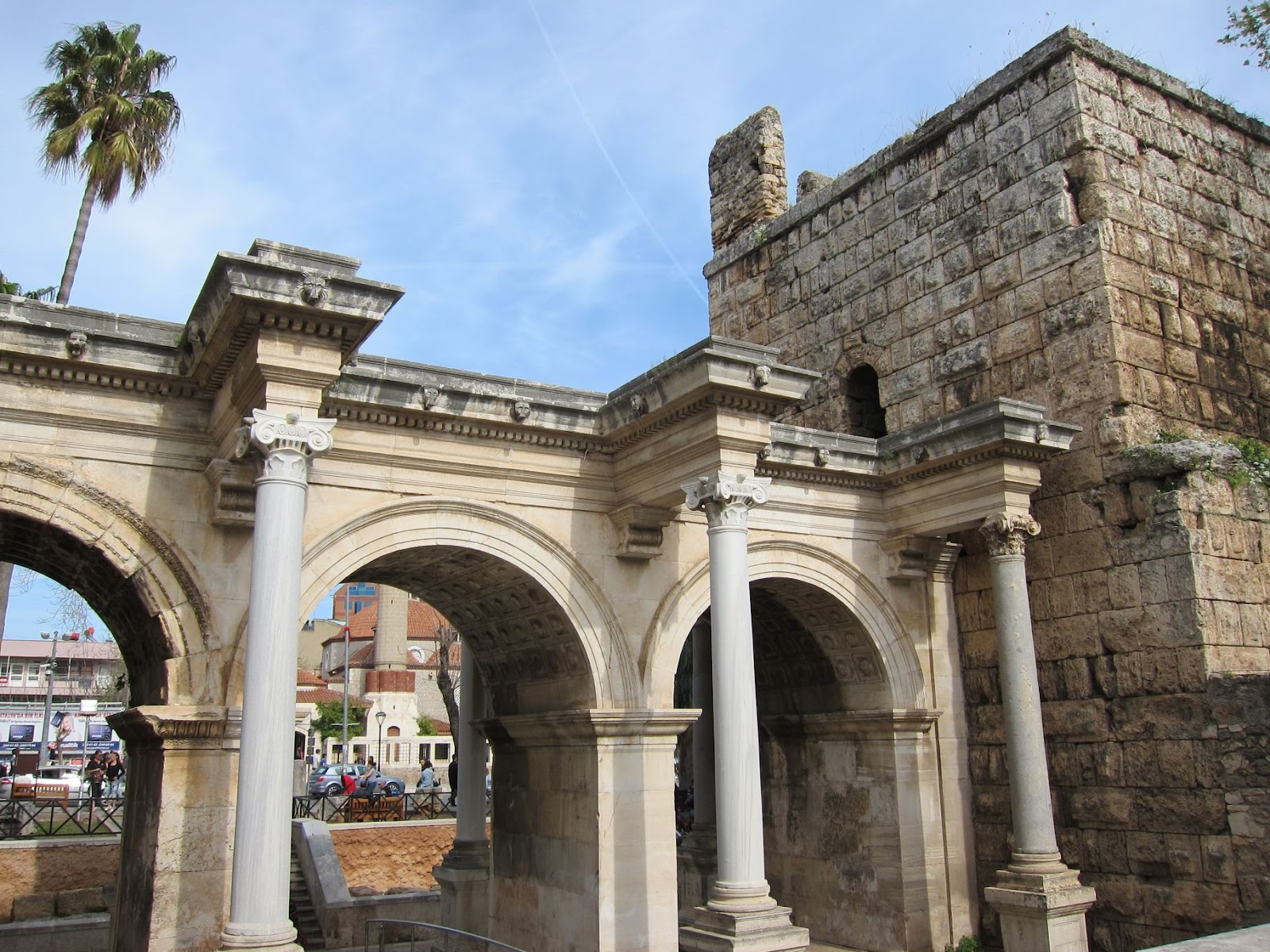 Worldtour 2011 - 2012: 24th-25th March: Travel to Antalya and wandering aroun...