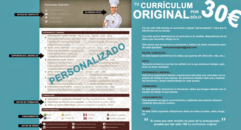 Currículum Original