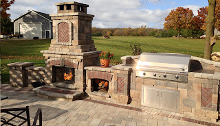 quarry stone patio