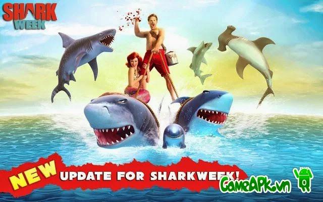 Hungry Shark Evolution v2.5.0 hack full tiền và kim cương cho Android