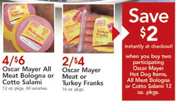 Ocar Mayer Deli Meats in addition Popular Chain Restaurants 31 besides Bologna furthermore Newspg7 furthermore Dierbergs Deals 7213 7813. on oscar mayer meat bologna 12 oz