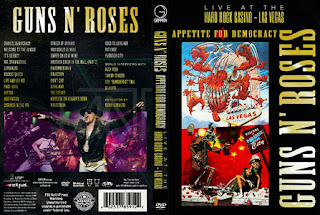 dvd live konser Guns N' Roses - Appetite for Democracy: Live at the Hard Rock Casino (2014), jual dvd konser, live musik, musik video,