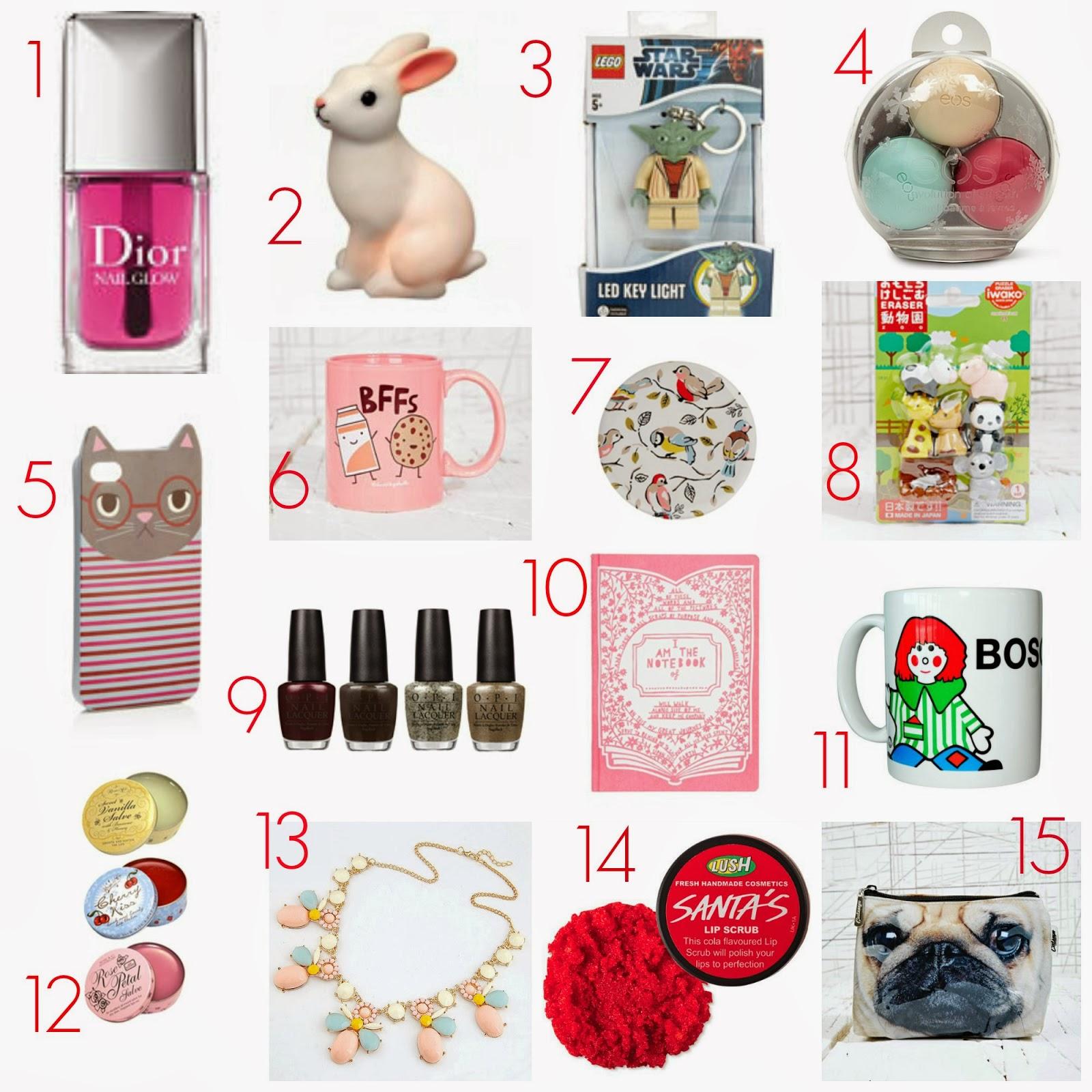 Secret Sister Gift Ideas Secret santa, stocking fillers