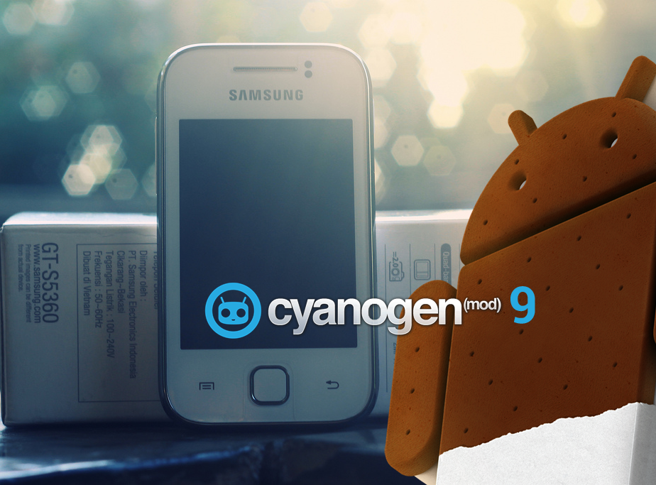 GALAXY Y ESTÁ GANHANDO O ICE CREAM SANDWICH VIA CYANOGENMOD 9
