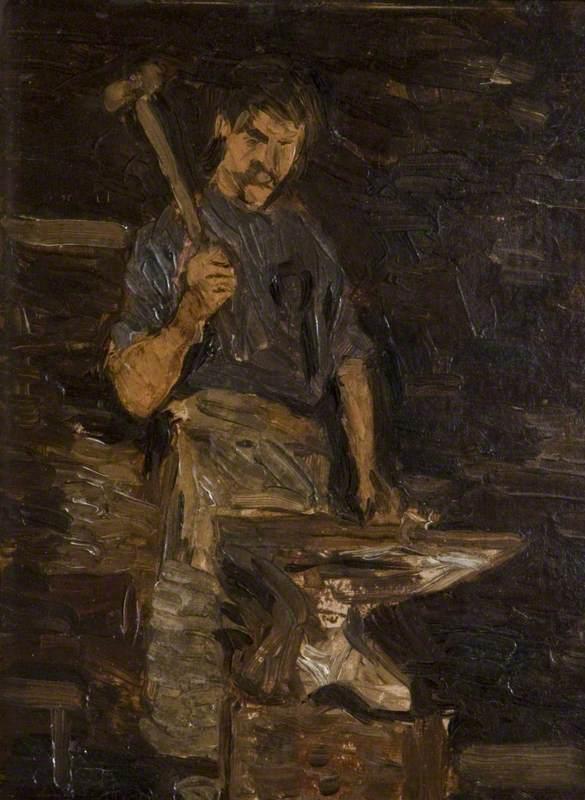 Paul  Henry  R.H.A.  My  The   lacksmith