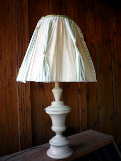 Anthro Inspired Lamp Makeover–{Ninth Street Notions}
