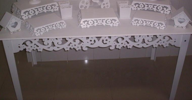 mesa provençal rendada