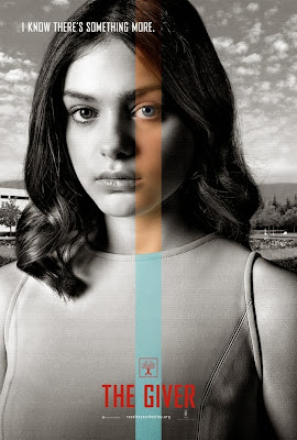 the giver odeya rush poster