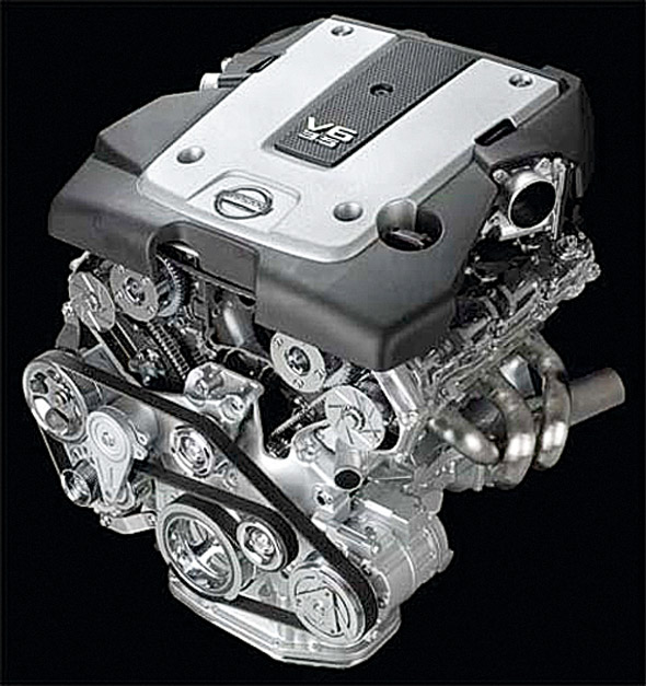 Nissan's VQ V6 Featured On Ward's List Of The Ten ʻbest' Engines Every Year  Since The List Started In 1995 Until 2008. The Test Is Based On Several Key  ...