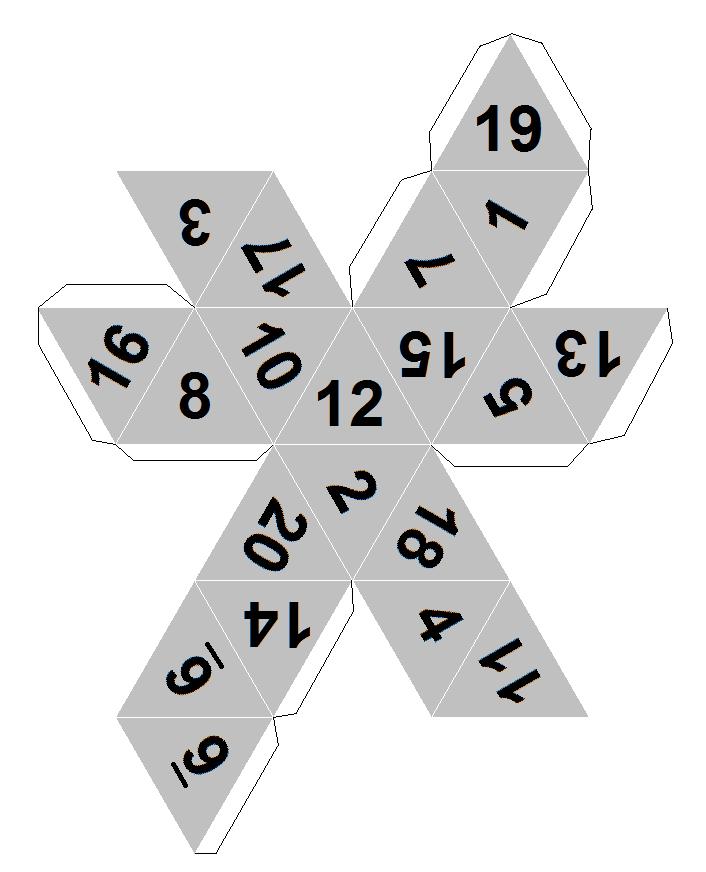 Как сделать 38 гранный кубик из бумаги