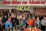 SAN BLAS EN MADRID 2013