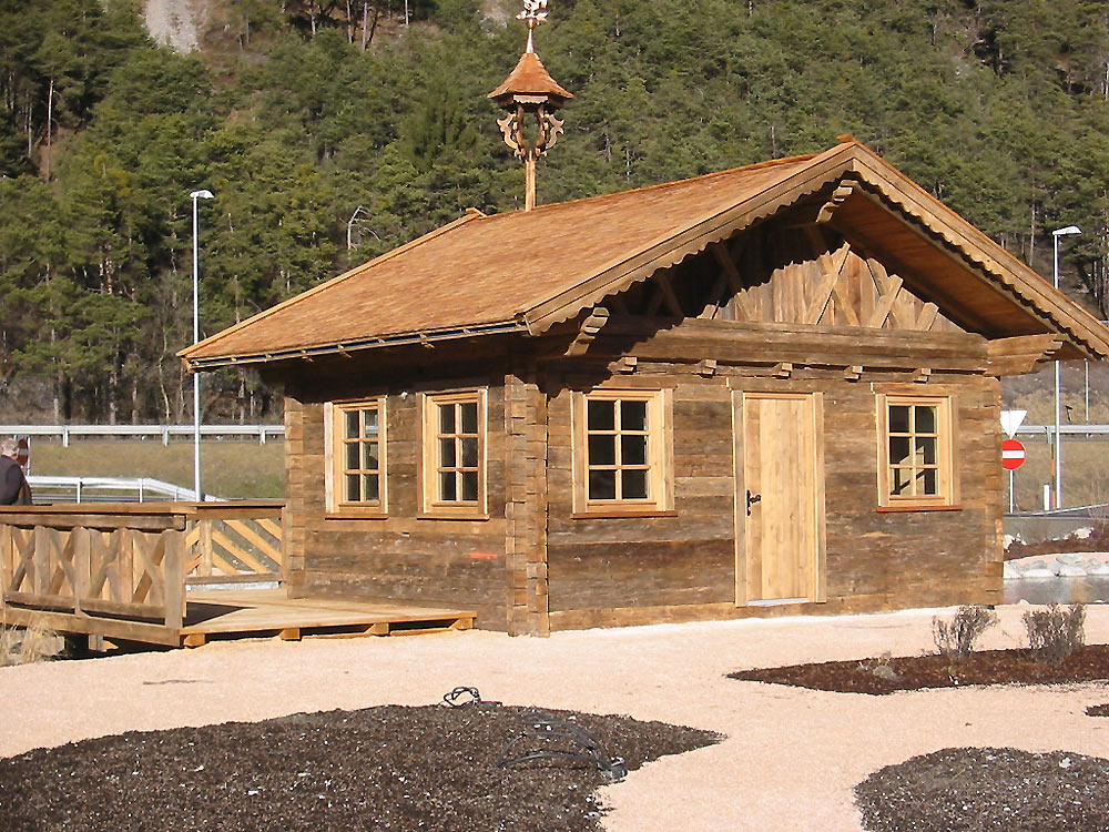 Gartenhaus Altholz zimmerei auer toni gmbh co k g