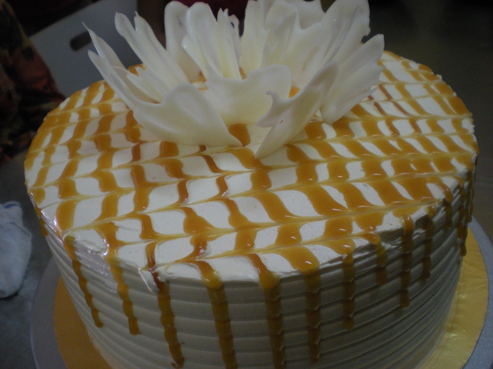 ... Cake - Mascarpone Chocolate Cake, Hazelnut Caramel and Nutty Caramel