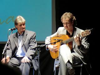 Enrique Soto Sordera en la conferencia de Emasesa Cultural