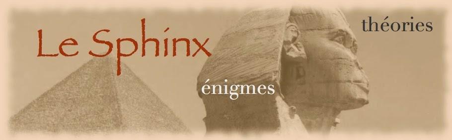 Le Sphinx de Guizeh - énigmes - théories