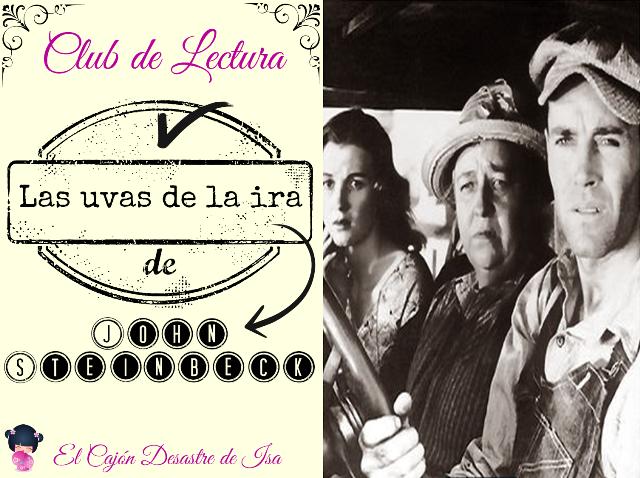 "Club de Lectura: ""Las uvas de la ira"" de John Steinbeck"