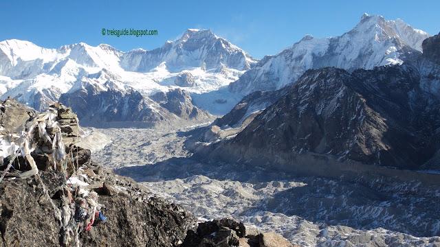 Mountins and glacier