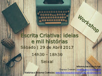 Workshop Escrita Criativa | Seixal, 29 de Abril 2017